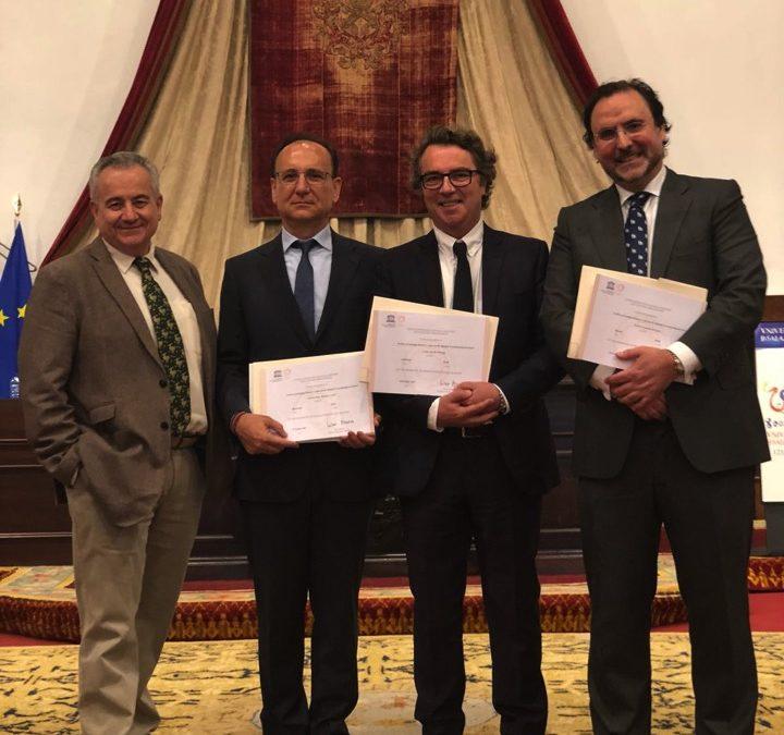 Diplomas UNESCO para Archivos de Santiago Ramón y Cajal y la Escuela Neurológica
