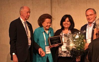 Laura López-Mascaraque: premio Dana/EDAB – divulgación neurocientífica, 2018
