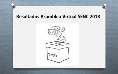 Asamblea Virtual SENC 2018