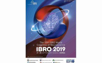10th IBRO World Congress of Neuroscience in Daegu, South Korea, 21-25 Sep 2019