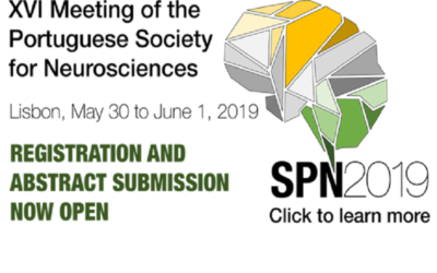 XVI Meeting of the Portuguese Society for Neuroscience: open for registration!