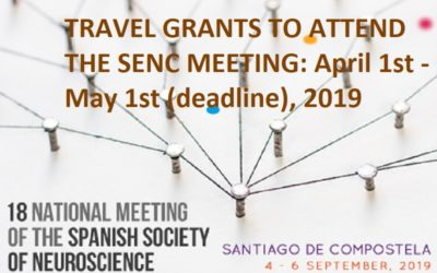 Travel grants to attend the SENC Meeting in Santiago de Compostela