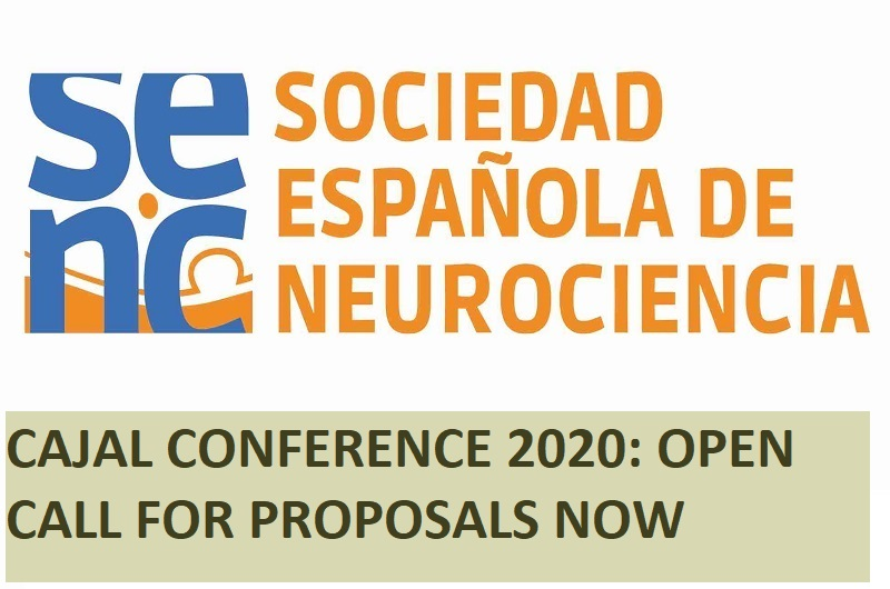 Cajal Conference – 2020: open call for proposals