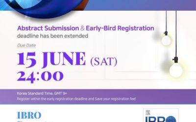 IBRO 2019. Abstract & Early Bird Registration