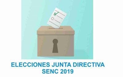 VOTA: Elecciones Junta Directiva de la SENC-2019