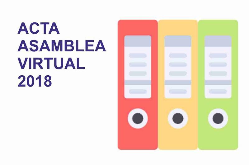Acta de la Asamblea Virtual 2018