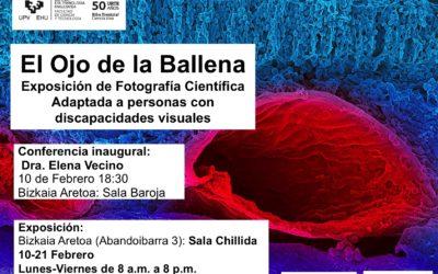 """""""El Ojo de la Ballena"""". Exposición de Fotografía Científica"""