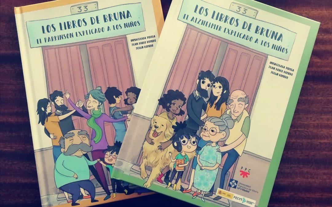 Los Libros de Bruna: Divulgando la enfermadad de Alzheimer y de Parkinson