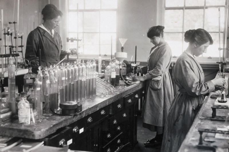 Women must not be obscured in science's history