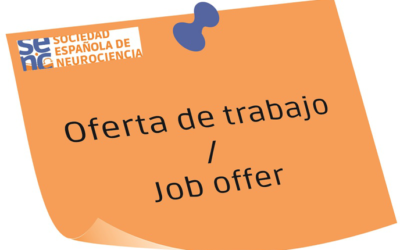 1 Postdoctoral researcher position available at the University Miguel Hernandez
